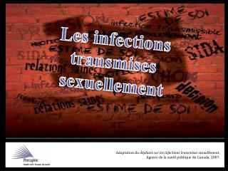 Les infections  transmises sexuellement