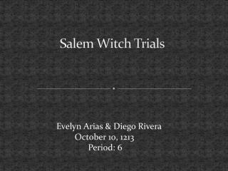 salem witch trials and mccarthyism thesis