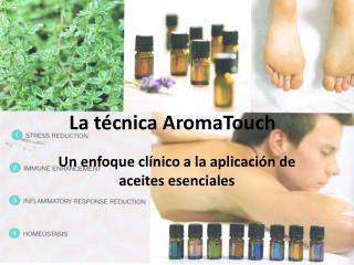 La técnica AromaTouch