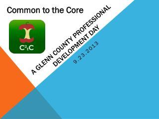 A Glenn County Professional Development Day