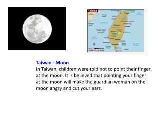 Taiwan - Moon