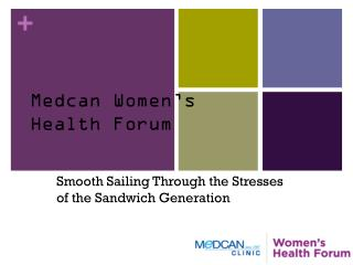 Medcan Women's  Health Forum