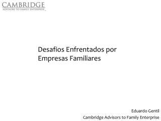 Desafios Enfrentados por Empresas Familiares
