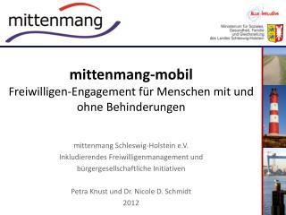 mittenmang-mobil Freiwilligen-Engagement für Menschen mit und ohne Behinderungen