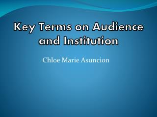 Chloe Marie Asuncion