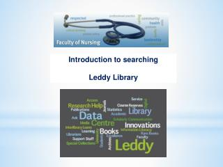 Introduction to  searching  Leddy Library