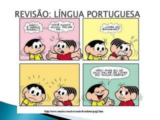 REVISÃO: LÍNGUA PORTUGUESA