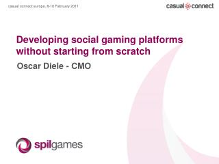 Developing social gaming platforms without starting from scratch