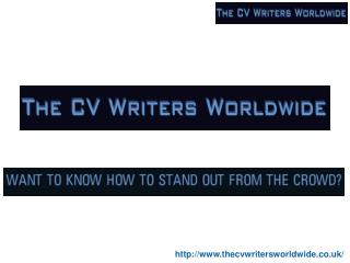 professional cv writers