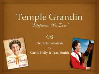 "Temple  Grandin ""Different, Not Less"""