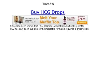 about hcg