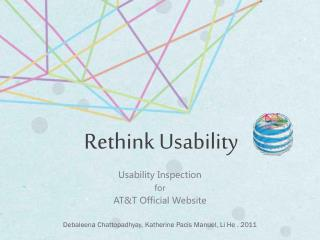 Usability Inspection  for AT&T Official Website