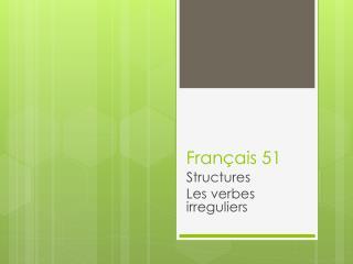 Français 51