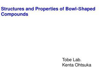 Tobe  Lab. Kenta  Ohtsuka