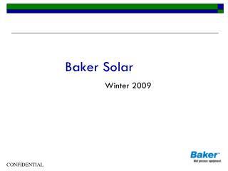 Baker Solar