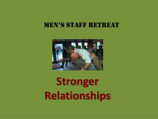 Stronger  Relationships