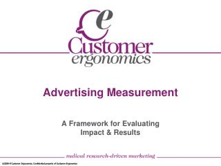 Advertising Measurement