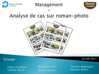Management - Analyse de cas sur roman-photo