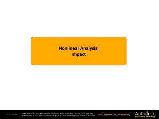 Nonlinear Analysis: Impact