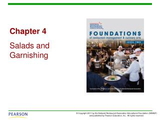 Chapter 4 Salads and Garnishing