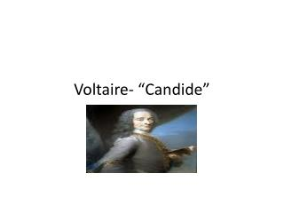 Voltaire- � Candide �