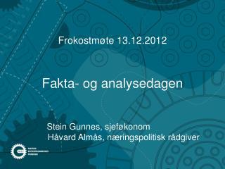 Fakta- og analysedagen