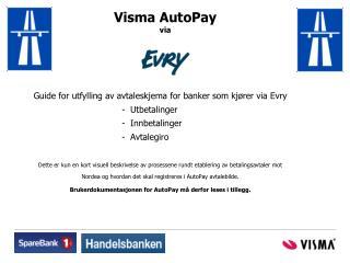 Visma AutoPay via