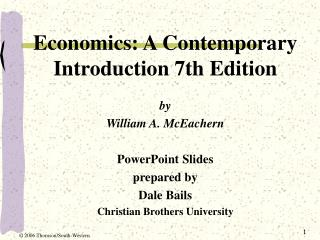Economics: A Contemporary Introduction 7th Edition