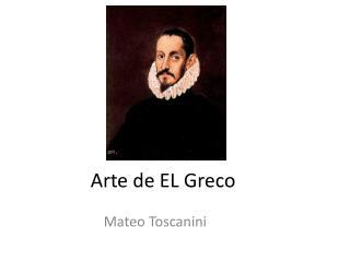 Arte de EL Greco