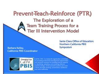 Santa Clara Office of Education:  Northern California PBIS Symposium