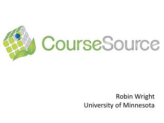 Robin Wright University of Minnesota