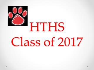 HTHS Class of 2017