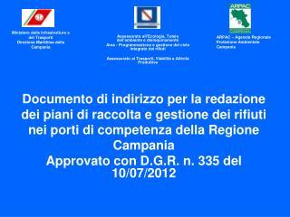 Documento di indirizzo per la redazione dei piani di raccolta e gestione dei rifiuti