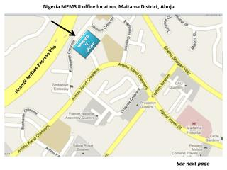 Nigeria  MEMS  II office location,  Maitama  District, Abuja