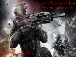 Psychological Effects of Violent Video Games on Adolescents