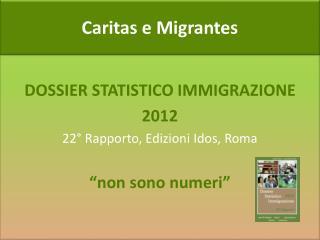 Caritas e Migrantes
