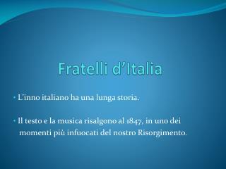 Fratelli d�Italia