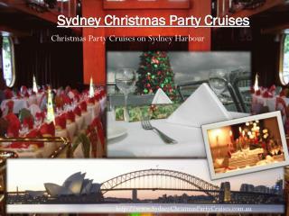 Sydney Christmas Party Cruises
