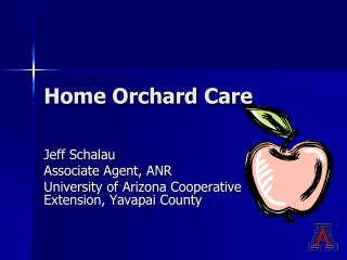 Home Orchard Care
