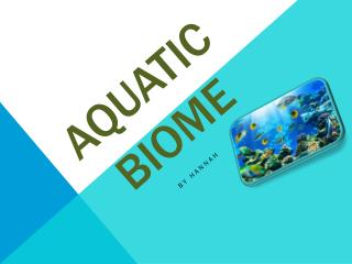 Aquatic Biome