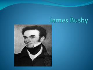 James Busby