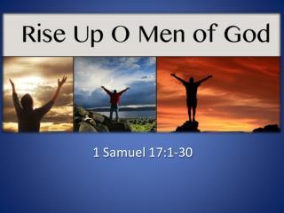 1 Samuel 17:1-30