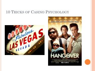 10 Tricks of Casino Psychology
