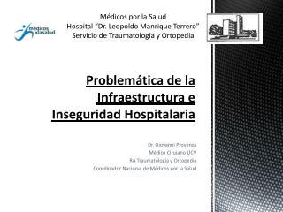 Problemática de la Infraestructura e Inseguridad Hospitalaria