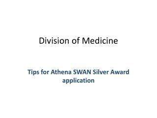 Division of Medicine