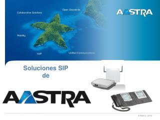 Soluciones SIP de