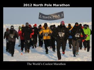 2011 North Pole Marathon