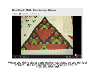 Vi Hart – the best mathematical doodler ever!?!