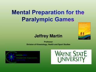 Mental Preparation for the  Paralympic Games