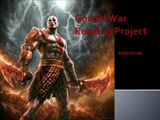 God Of War Reading Project